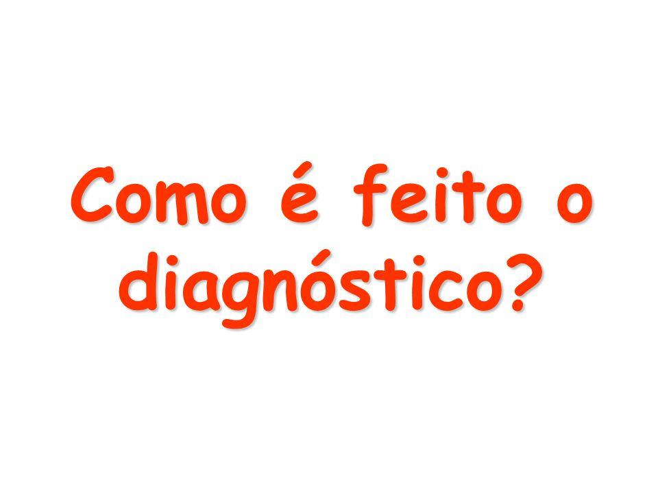 Como é feito o diagnóstico?