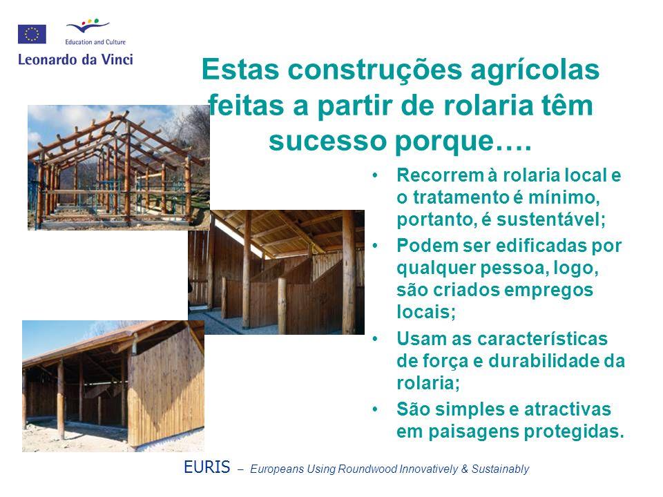 Para além de ser prática na construção de edifícios, a rolaria pode ser atractiva Estes exemplos chegam-nos da Eslovénia, da Espanha e de Chipre.