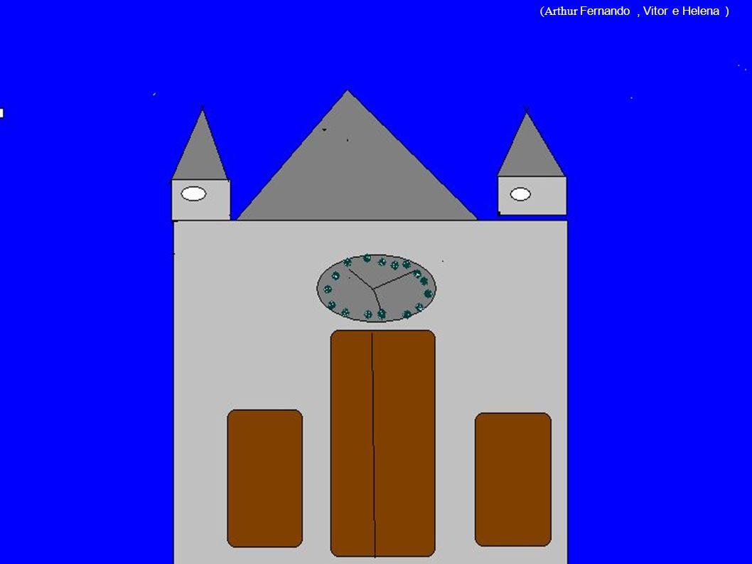Igreja Matriz Construída em 1940 pelo padre José Loks e projetada pelo arquiteto alemão Simão Granlich, a Igreja Matriz do Santíssimo Sacramento só fo