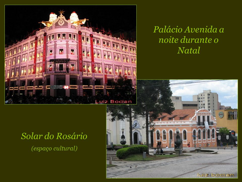 Antigo paiol de pólvora de Curitiba, construído em 1906, transformado em teatro de arena, com capacidade para 225 pessoas. O Teatro Paiol foi inaugura