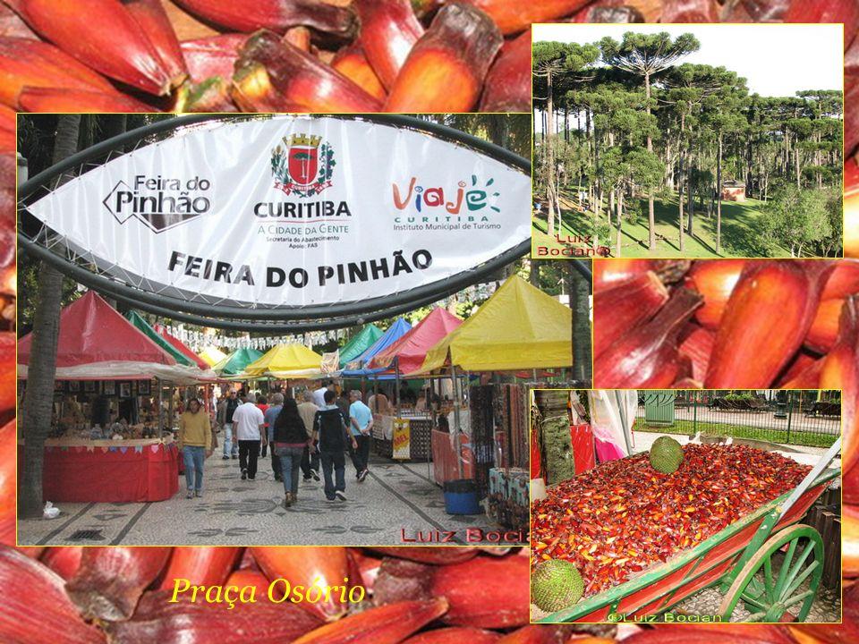 Setor histórico - Feira de domingo Praça Garibaldi Largo da Ordem