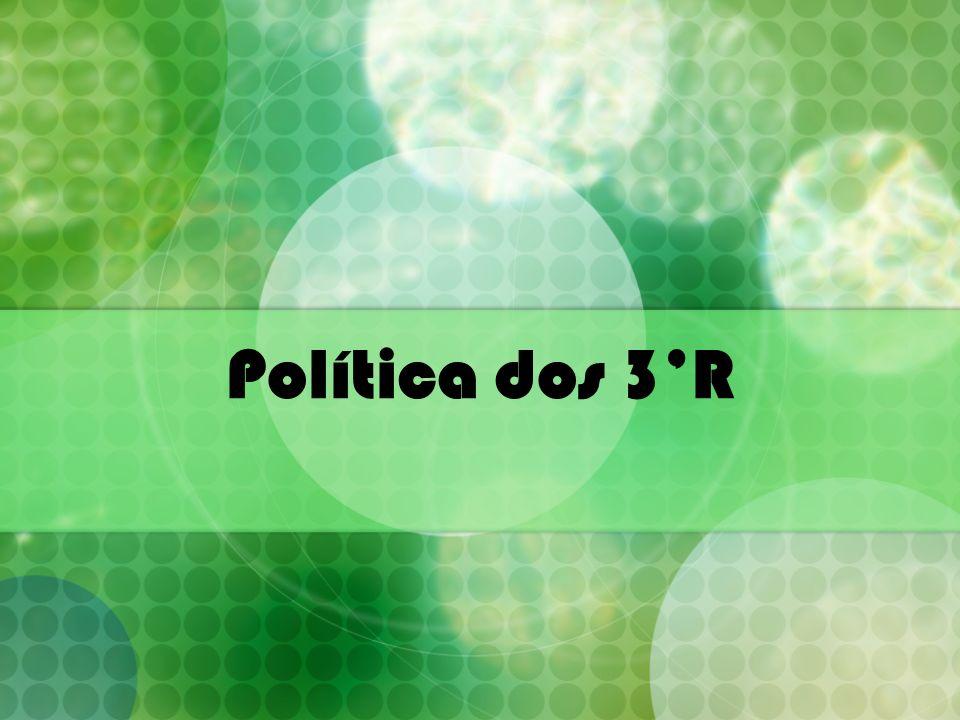 Política dos 3R