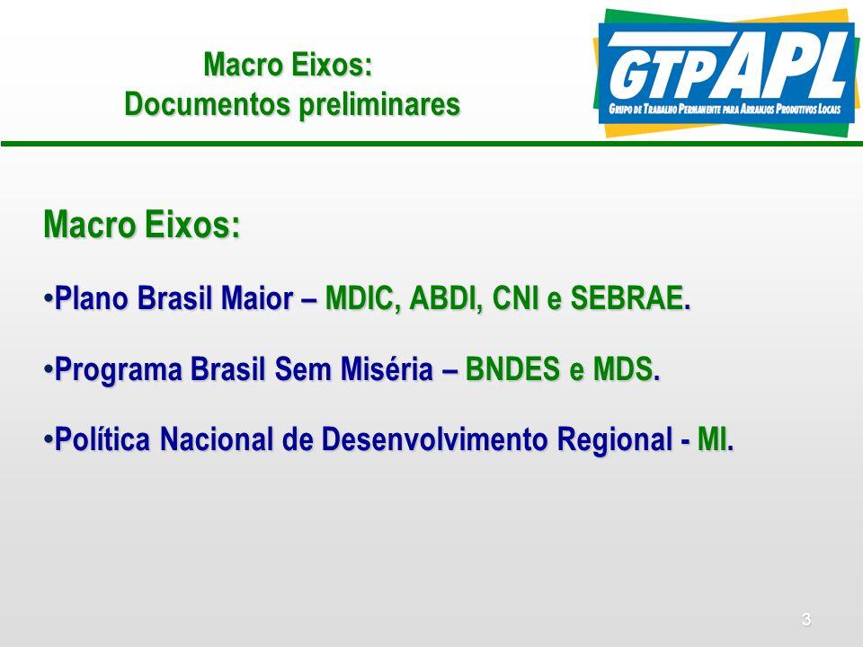 14 Compras Governamentais para Desenvolvimento Local Ações: Ações: Workshop de sensibilização/mobilização em Brasília – a partir de iniciativas estaduais em curso.