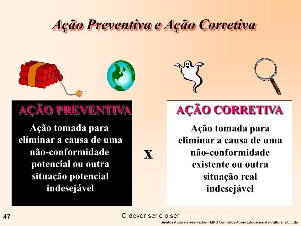 Direitos Autorais reservados – M&B Central de Apoio Educacional e Cultural S/C Ltda 46 C / NC PADRÃO DIZ o que FAZ E.O.