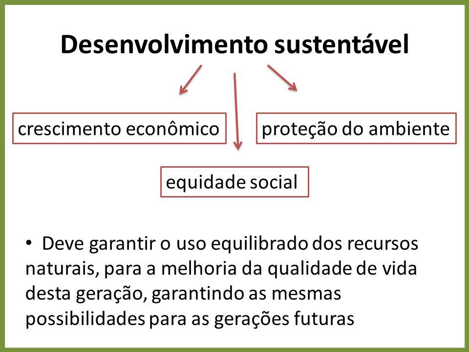 Pacto social entre as classes O atual modelo de produção e consumo nas sociedades capitalistas deve ser repensado, por meio da integração entre os diversos atores sociais – setores empresariais, governo, sociedades científicas, sociedade civil etc.
