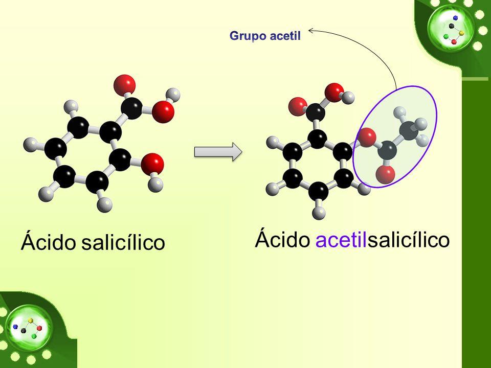 Ácido salicílico Ácido acetilsalicílico