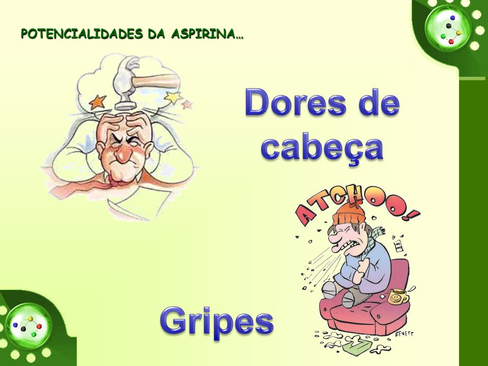POTENCIALIDADES DA ASPIRINA… POTENCIALIDADES DA ASPIRINA…