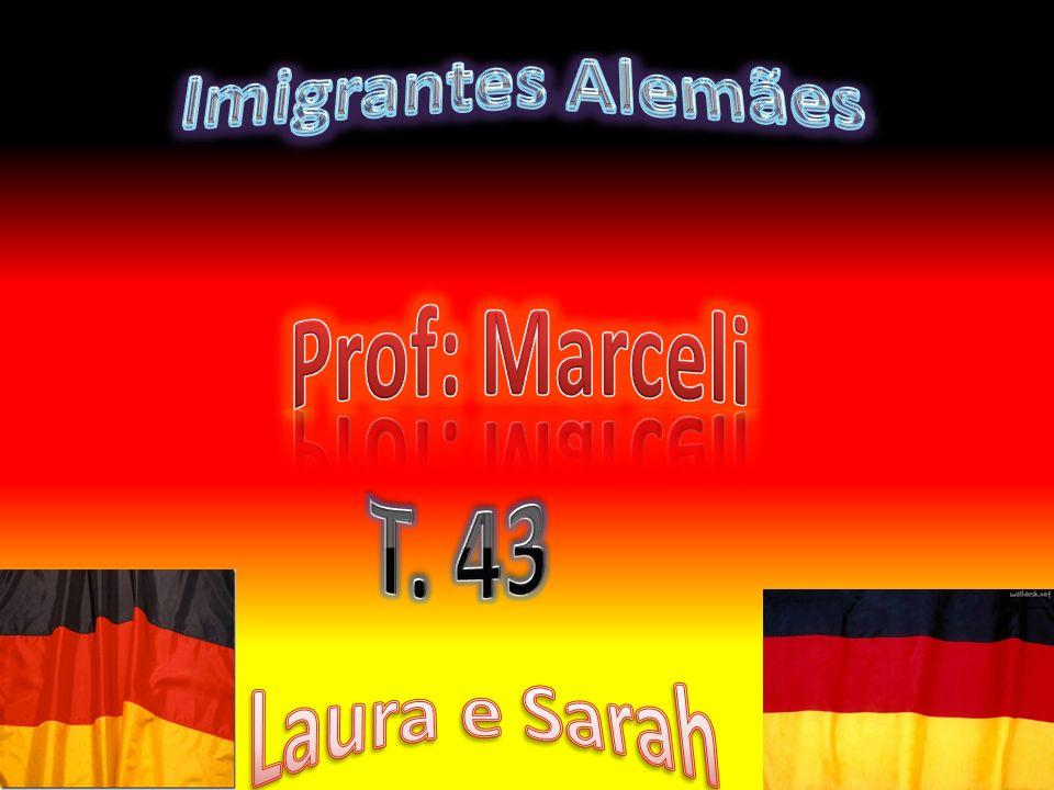 Como e porque vieram A imigração alemã começou no Rio Grande do Sul em Julho de 1824, quando chegaram aproximadamente 17.000 alemães, comerciantes, agricultores e artesões.