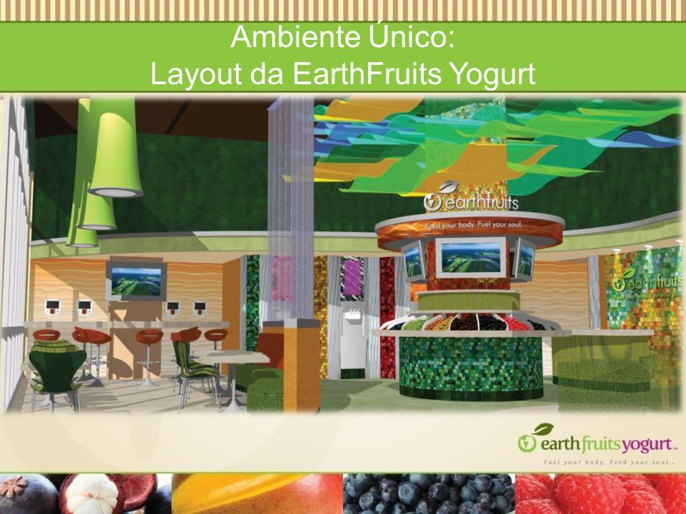 Ambiente Único: Layout da EarthFruits Yogurt