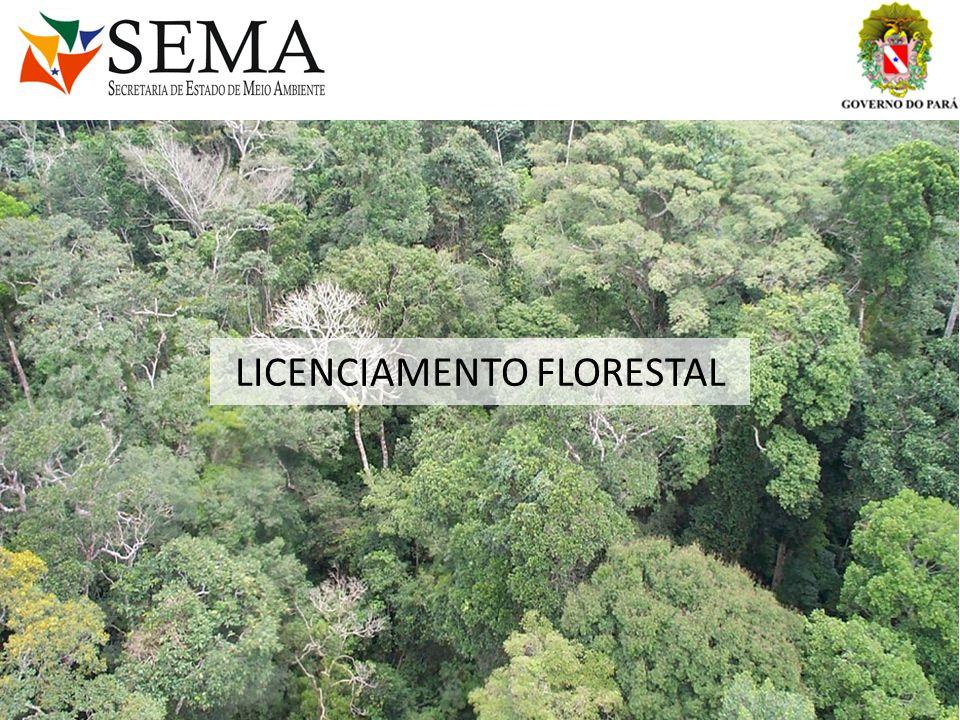 Procedimento para o Licenciamento Ambiental de Projetos de Manejo Florestal Sustentável - PMFS LEGISLAÇÃO APLICÁVEL: Lei nº 4.771, de 15 de setembro de 1965 (Institui o Código Florestal); Medida Provisória nº 2.166-67, de 24 de agosto de 2001 (Nova redação a 4.771/65); Lei nº 11.284, de 02 de março de 2006 (Dispões Exploração florestal); Decreto Federal nº 5.975, de 30 de novembro de 2006; Decreto Estadual nº2.