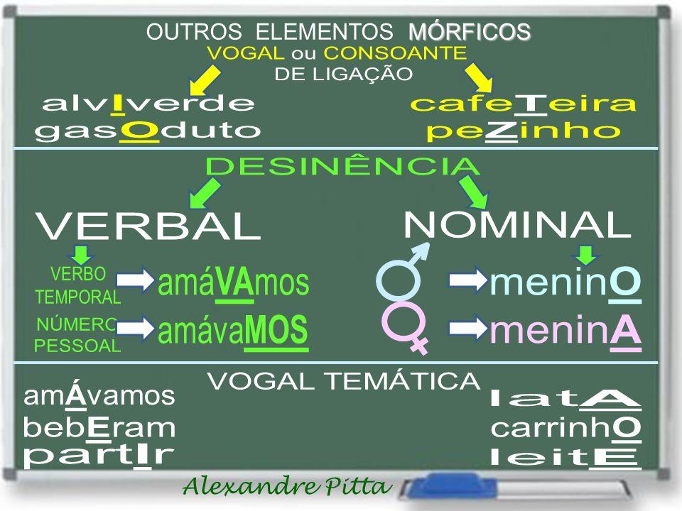 Alexandre Pitta MÓRFICOS OUTROS ELEMENTOS MÓRFICOS