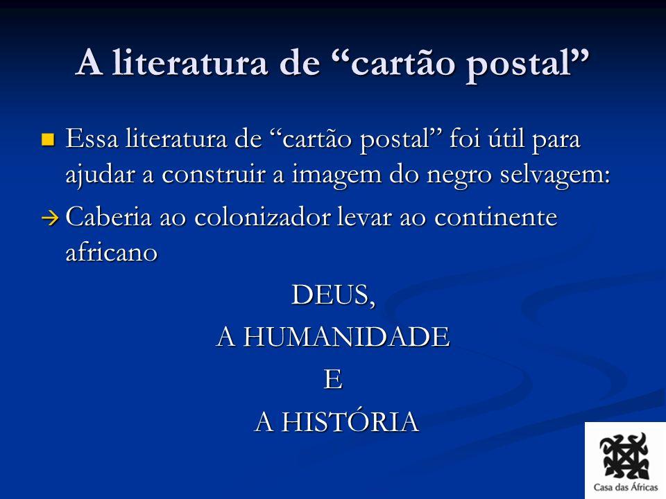 A literatura dos anos 1920-30 Surge os primeiros textos escritos pelos africanos e africanos da diáspora formados nas chamadas escolas coloniais – a conhecida literatura africana francófona.
