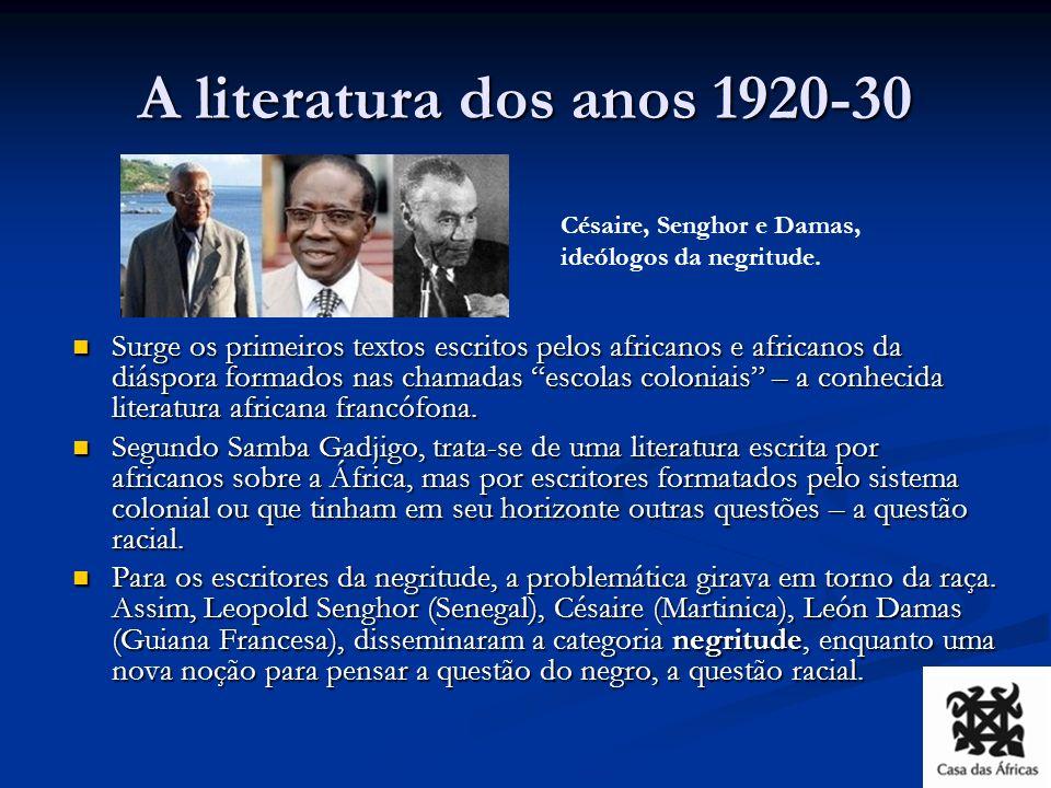 Para além da negritude A um mundo totalmente racista, automutilado por suas cirurgias coloniais, Aimé Césaire restituiu a África mãe, a África matriz, a civilização negra.