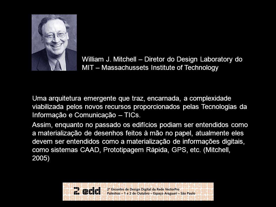 Uma arquitetura emergente que traz, encarnada, a complexidade viabilizada pelos novos recursos proporcionados pelas Tecnologias da Informação e Comuni