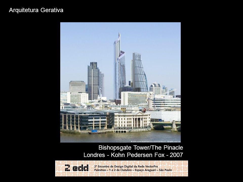 Bishopsgate Tower/The Pinacle Londres - Kohn Pedersen Fox - 2007