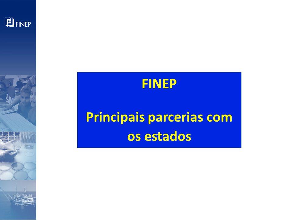 Definições conjuntas de modo a atender as prioridades do programa Brasil Maior e PACTI II: Agentes Critérios Prioridades estaduais Cadeias, setores, temas Construir uma agenda de Parceria com os Estados (Consecti / Confap) para lançar editais ainda em 2011