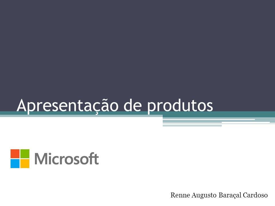 Apresentação de produtos Renne Augusto Baraçal Cardoso