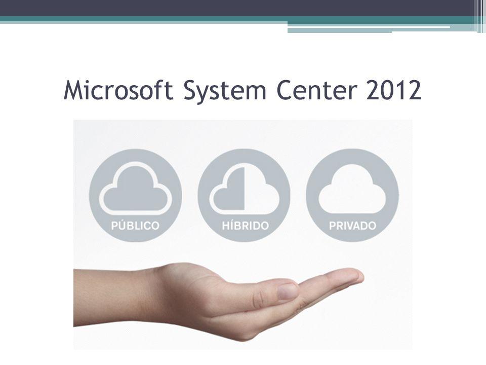 Visão geral Microsoft System Center 2012 é uma plataforma abrangente de gerenciamento que permite a você gerenciar seus ambientes de TI de forma mais fácil e eficiente, incluindo sua infraestrutura de servidores e dispositivos clientes, gerenciando nuvens publicas e privadas em uma única console.