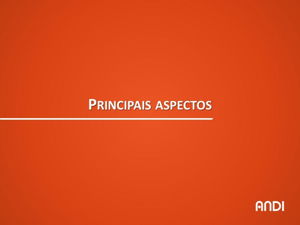 P RINCIPAIS ASPECTOS