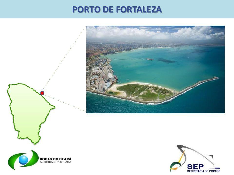 PORTO DE FORTALEZA – NOSSO NEGÓCIO O Porto de Fortaleza tem como principal negócio a exploração da atividade portuária, disponibilizando instalações, infraestrutura e prestação de serviços com a máxima eficiência.