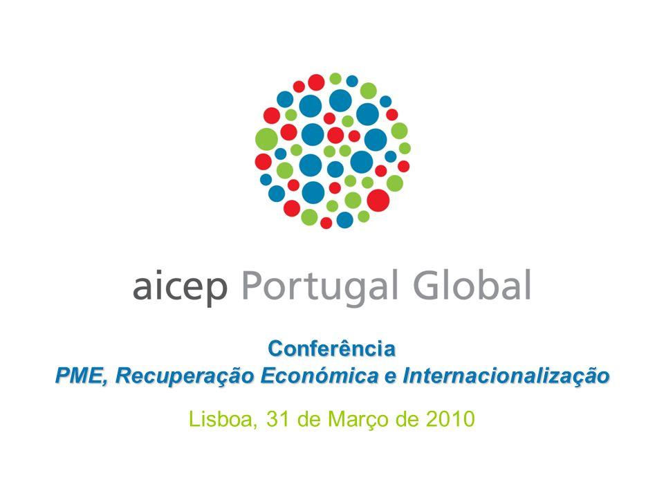 Conferência PME, Recuperação Económica e Internacionalização Lisboa, 31 de Março de 2010