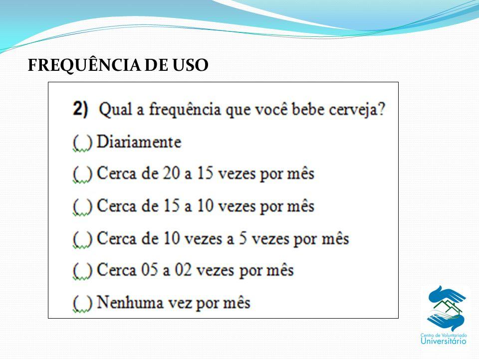 FREQUÊNCIA DE USO
