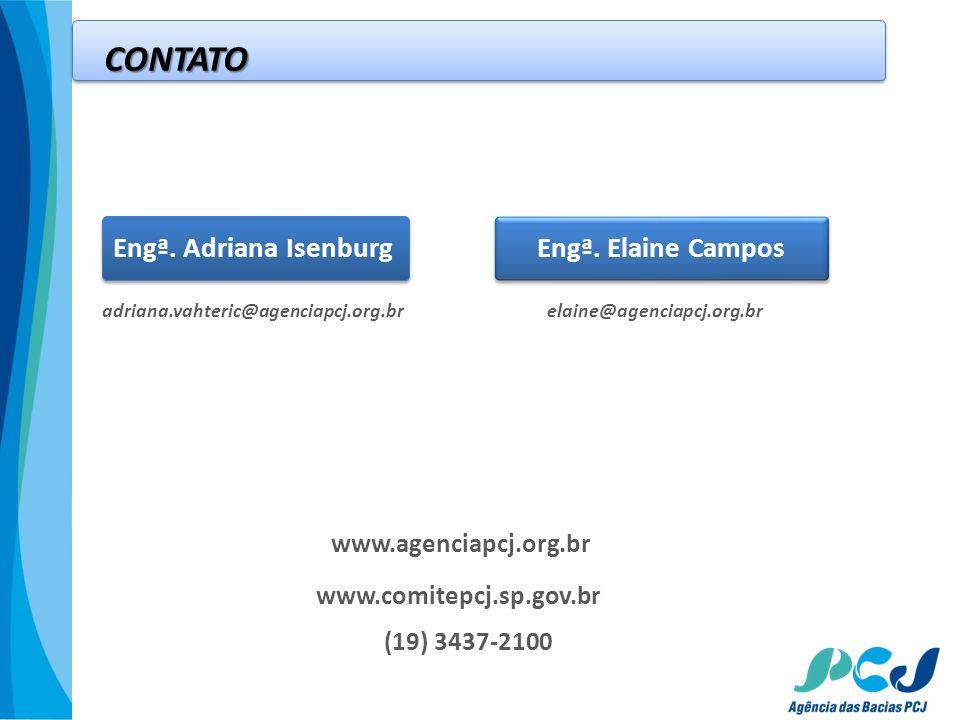 adriana.vahteric@agenciapcj.org.br CONTATO Engª. Adriana IsenburgEngª. Elaine Campos www.agenciapcj.org.br (19) 3437-2100 elaine@agenciapcj.org.br www