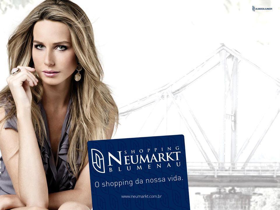 CONCEPÇÃO Os 30 anos de credibilidade do Grupo Almeida Júnior são a grife que fará o diferencial do Blumenau Norte Shopping.