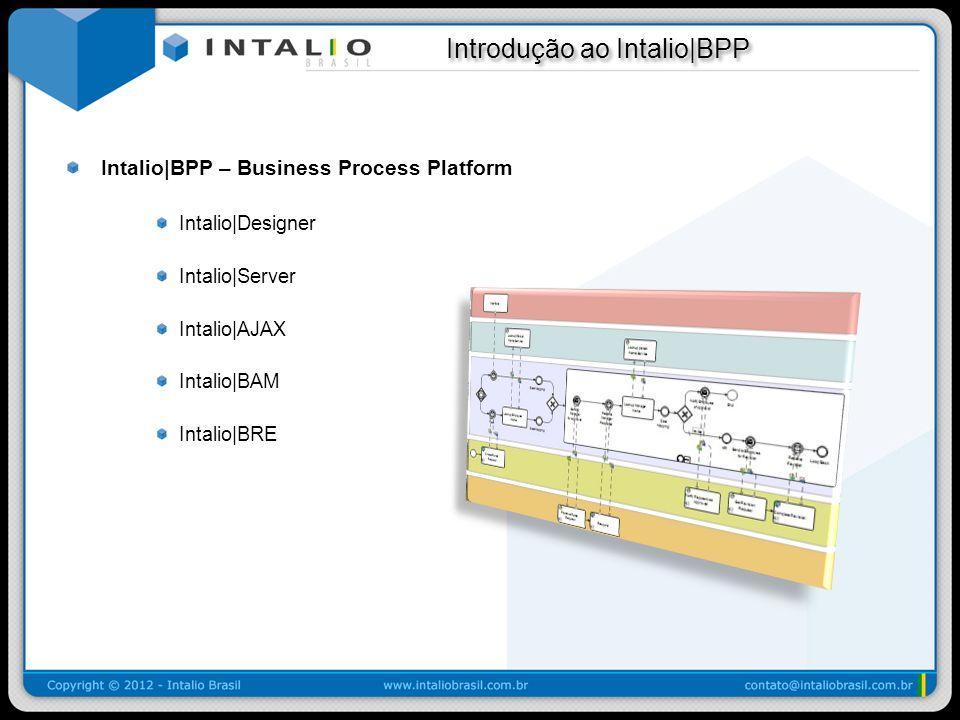 Introdução ao Intalio|BPP Introdução ao Intalio|BPP Intalio|BPP – Business Process Platform Intalio|Designer Intalio|Server Intalio|AJAX Intalio|BAM I