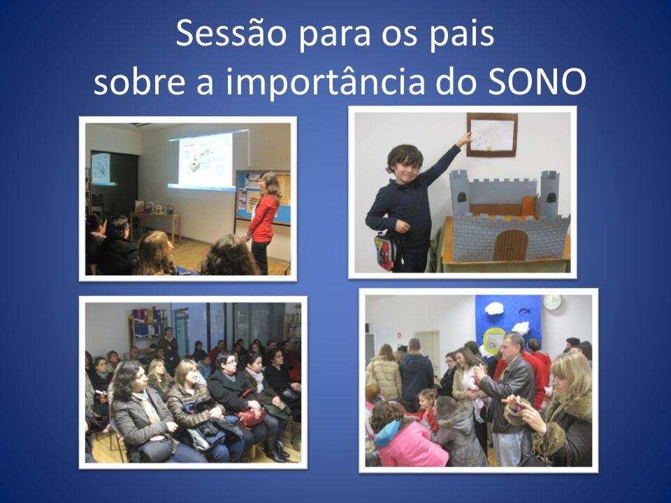 Sessão para os pais sobre a importância do SONO