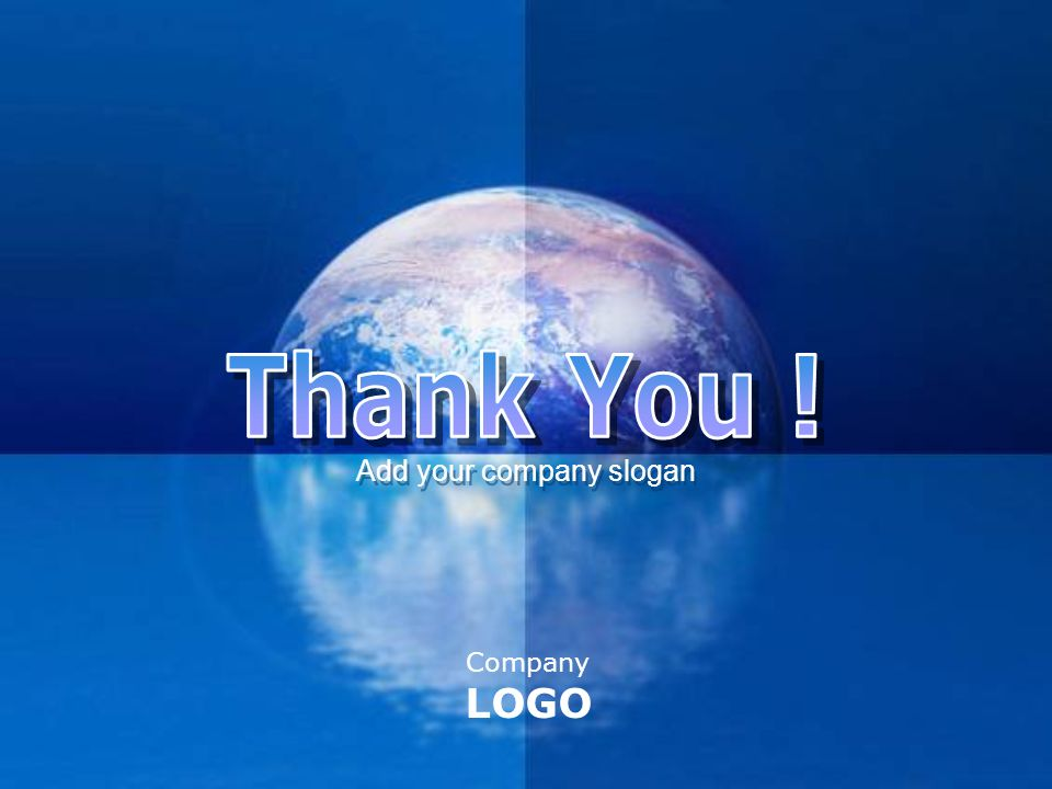 Company LOGO Add your company slogan