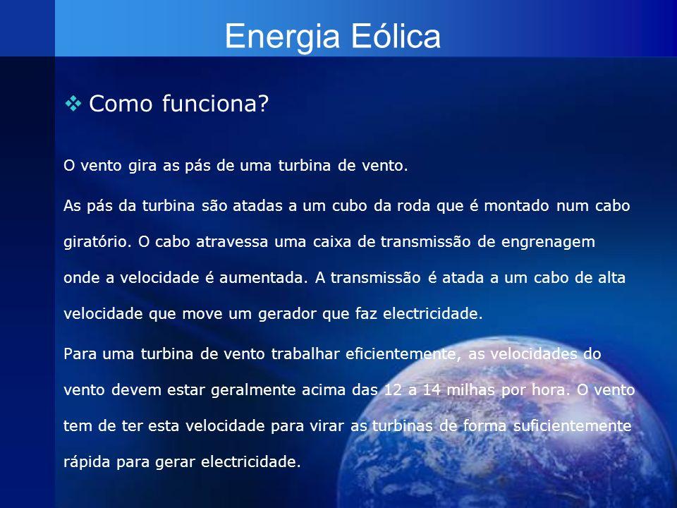 Energia do Hidrogénio A energia do hidrogénio é a energia que se obtém da combinação de hidrogénio com oxigénio produzindo vapor de água e libertando energia que é convertida em electricidade.