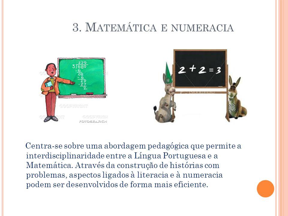 A matemática é muito importante porque sem ela a humanidade estava perdida.