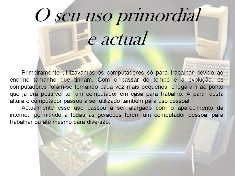 Uso pessoal e profissional Um computador pessoal é um computador de pequeno porte e baixo custo, que se destina ao uso pessoal ou para uso de um pequeno grupo de indivíduos.
