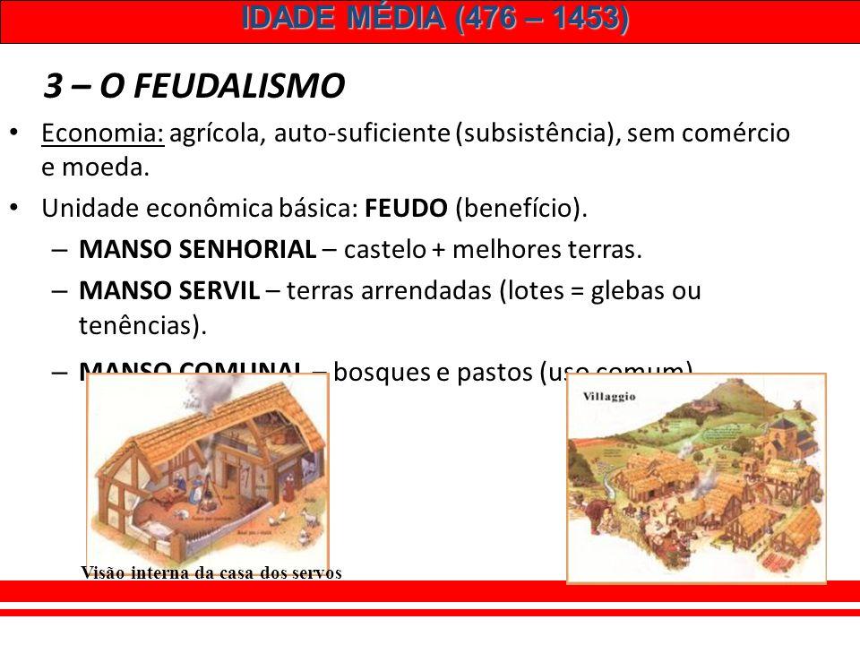 IDADE MÉDIA (476 – 1453) 5 – O RENASCIMENTO URBANO: Retomada do comércio impulsiona o renascimento urbano.