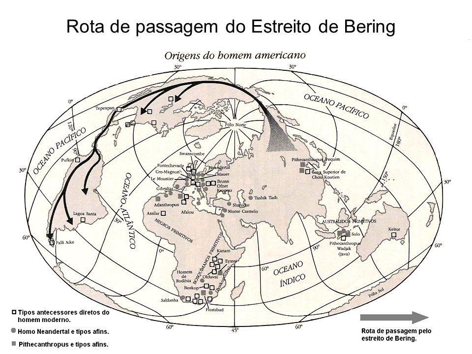 Rota de passagem do Estreito de Bering