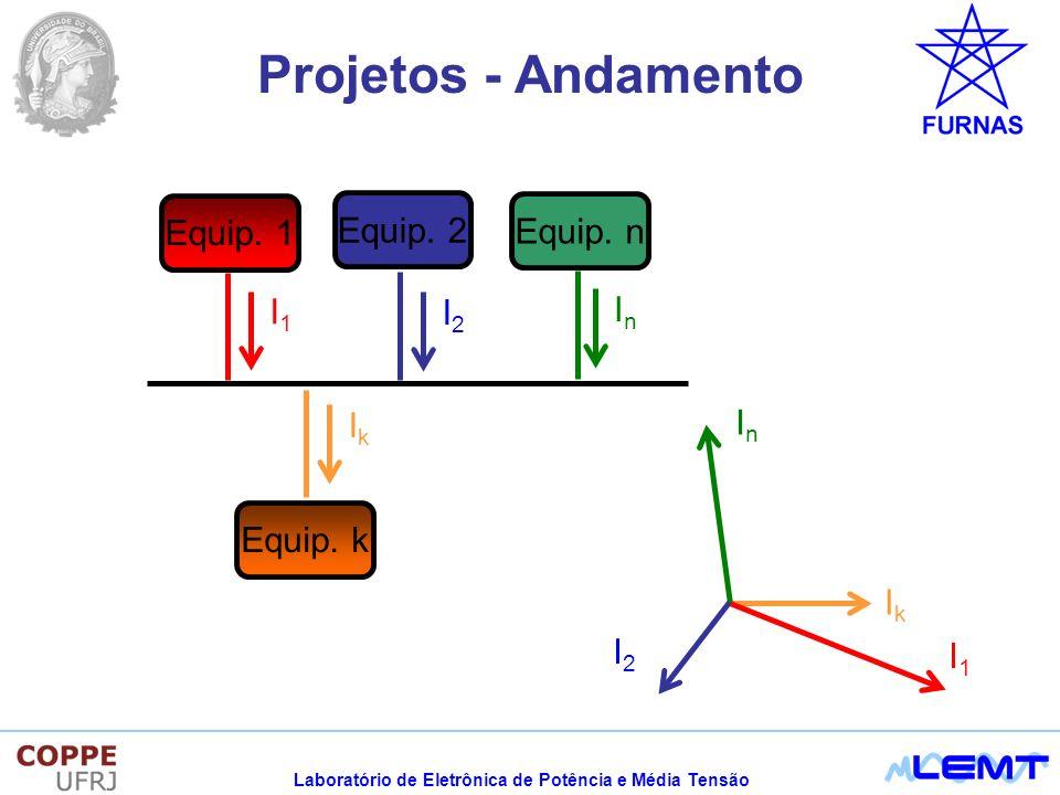 Laboratório de Eletrônica de Potência e Média Tensão Projetos - Andamento Equip.