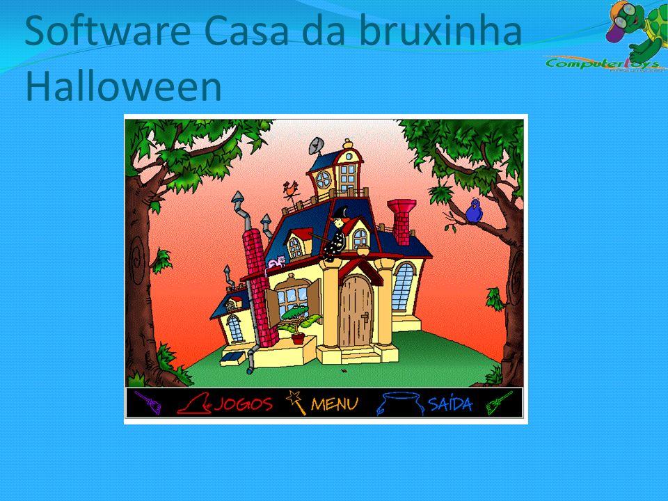 Software Casa da bruxinha Halloween