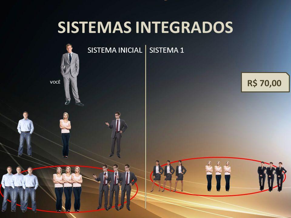 SISTEMAS INTEGRADOS VOCÊ SISTEMA INICIALSISTEMA 1 R$ 70,00