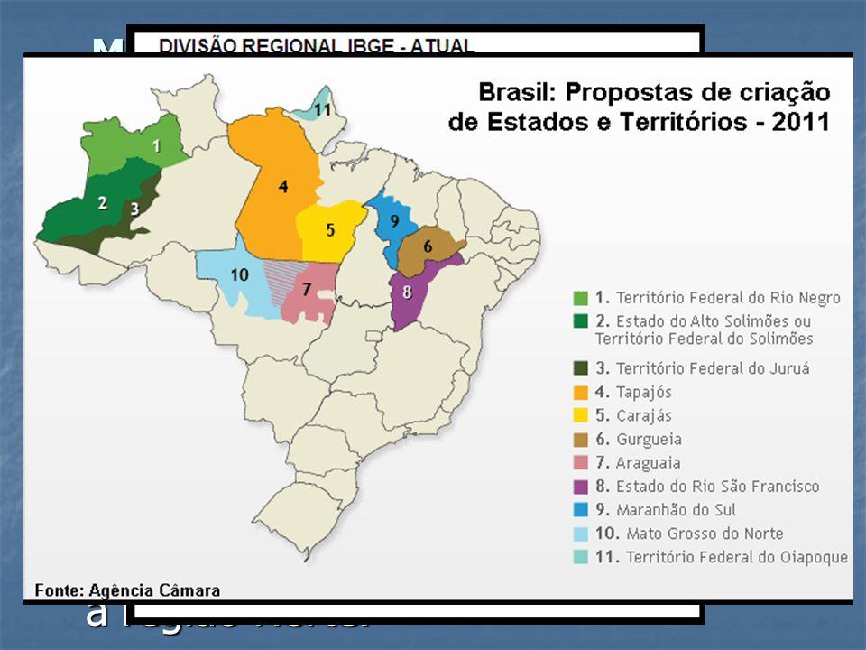 - Década de 70: Territórios tornam-se estados (exceto Fernando de Noronha, que tornou-se município de Pernambuco). - 1979: Criação de Mato Grosso do S