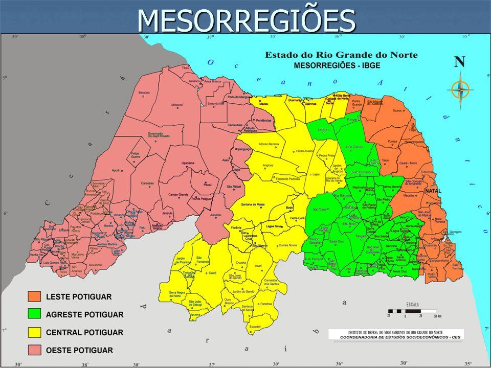 COMPLEXO NORDESTINO - Historicamente configura-se como área de repulsão populacional.