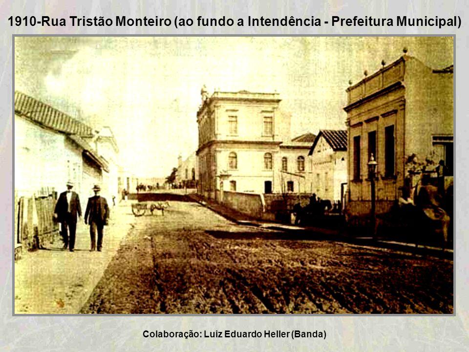 1909-Cartão-Postal do início do século XX da cidade de Taquara Colaboração: José Alberto Junges