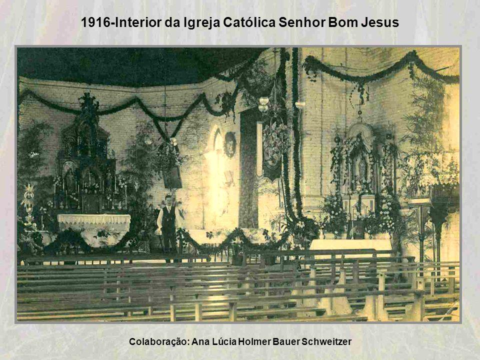 1912-Igreja Evangélica de confissão Luterana – Taquara Colaboração: Ana Lúcia Holmer Bauer Schweitzer