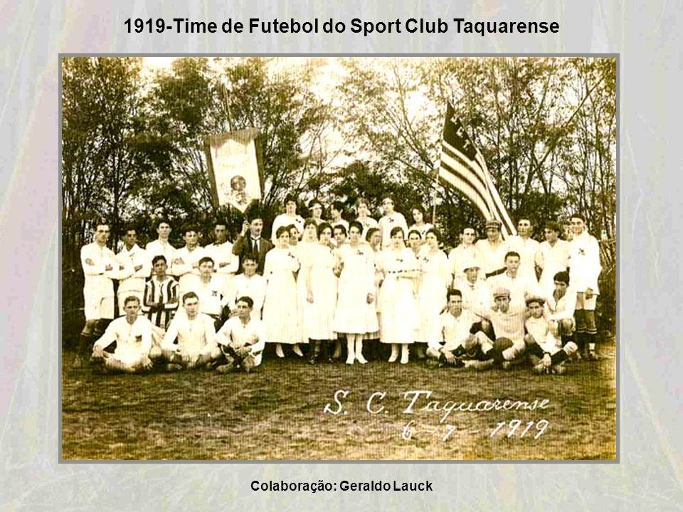 1916-Estação de Taquara da Viação Férrea do Rio Grande do Sul na Rua Tristão Monteiro Colaboração: Flávio Heinz Comassetto