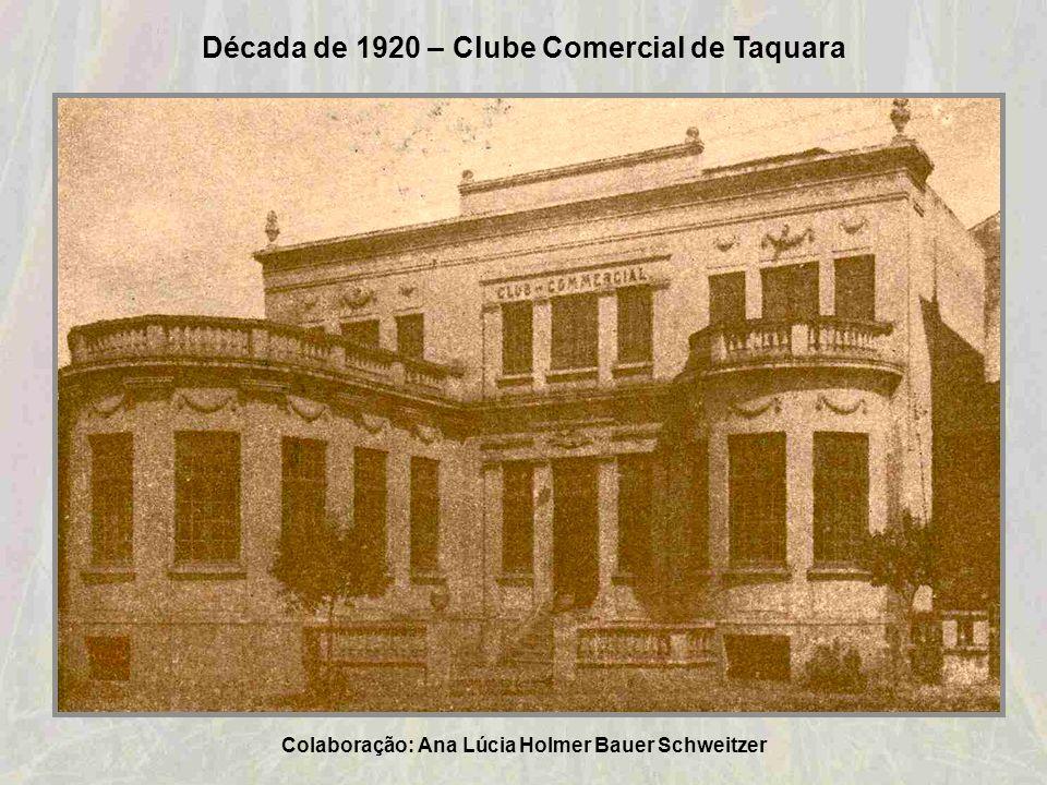 Década de 1920 – Fábrica de Bebidas Jacob Grin. Atual Colegio Santa Teresinha. Colaboração: Oswaldo Machado de Bitencourt