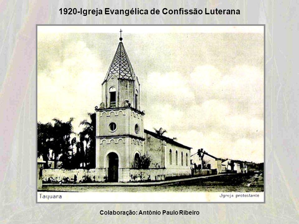 Década de 1920 – Clube Comercial de Taquara Colaboração: Ana Lúcia Holmer Bauer Schweitzer