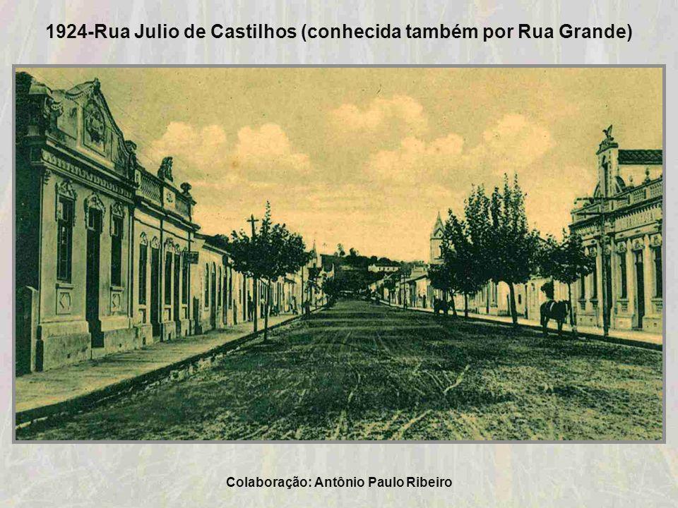 1924-Foto da cidade de Taquara. Colaboração: Claudio Schroeder
