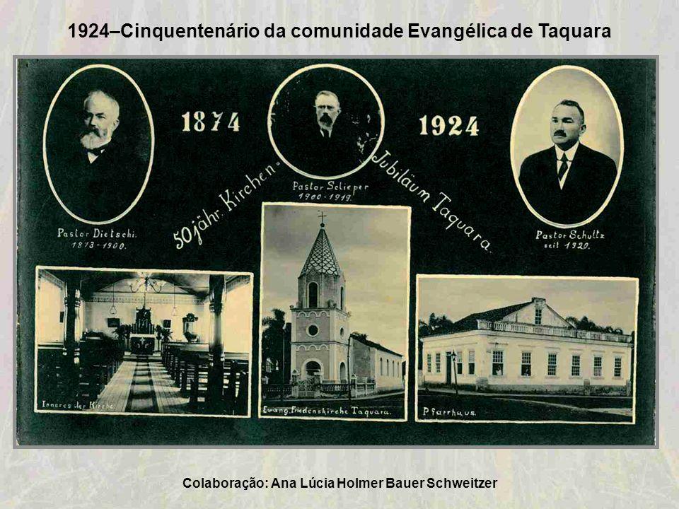 1924-Rua Julio de Castilhos (conhecida também por Rua Grande) Colaboração: Antônio Paulo Ribeiro