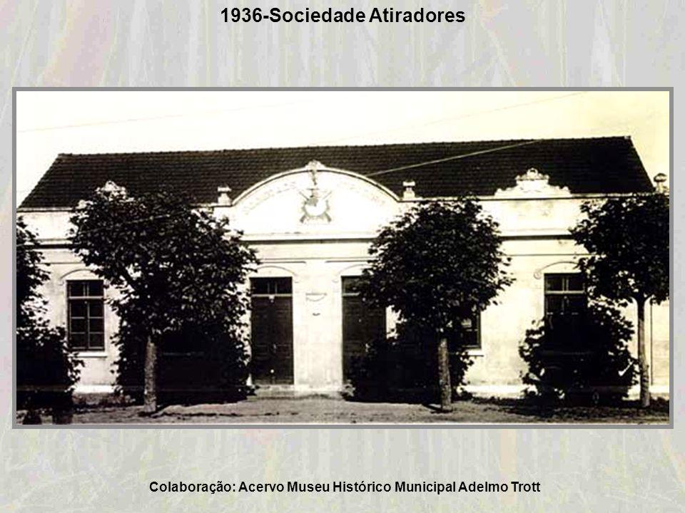 1935-Vista aérea a partir do Morro do Leôncio Colaboração: José Carlos Scheffell