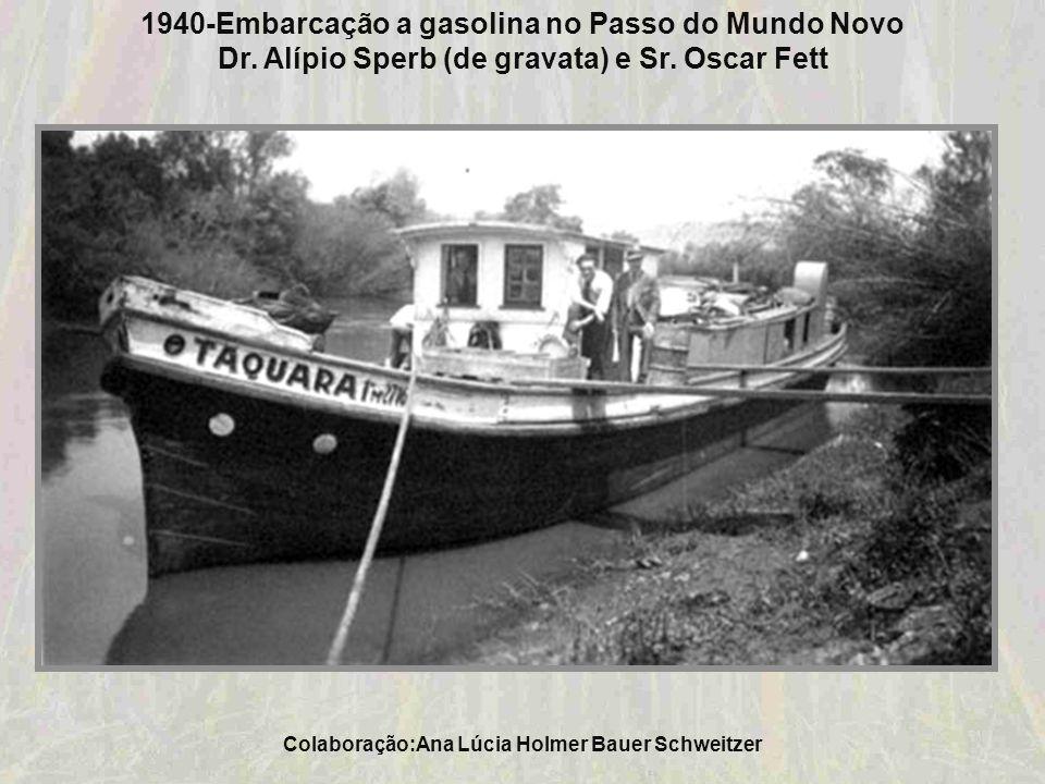 Colaboração: Ana Lúcia Holmer Bauer Schweitzer 1940-Praça Marechal Deodoro da Fonseca